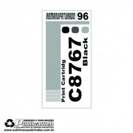 Etiqueta para Cartucho HP 96 C8767