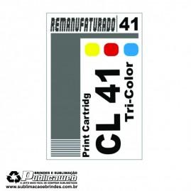 Etiqueta para Cartucho Canon 41 CL 41