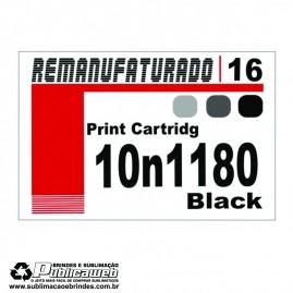 Etiqueta para Cartucho Lexmark 16 10n1180