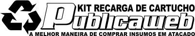 Kit Recarga de Cartuchos e Sublimação de Brindes