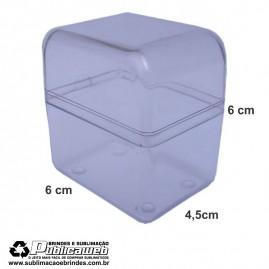 Caixa em Poliestireno Cristal Pequeno para Cartucho c/ 10 Unid.