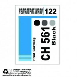 Etiqueta para Cartucho HP 122 CH561