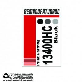 Etiqueta para Cartucho Lexmark 13400HC