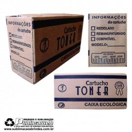 Caixa de Toner Ecológica sem Alça Pequeno c/25 Unid.