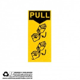 Etiqueta Remova Pull para Todos os Cartuchos