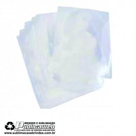 Saco Plástico Transparente 10×15 Para Embalar Cartucho