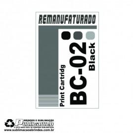 Etiqueta para Cartucho Canon BC 02