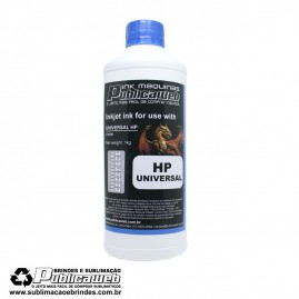 Tinta Publicaweb Ink Universal Corante Azul 1 kilo