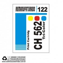 Etiqueta para Cartucho HP 122 CH562